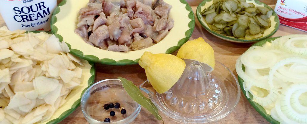 Ingredients Marinated Herring