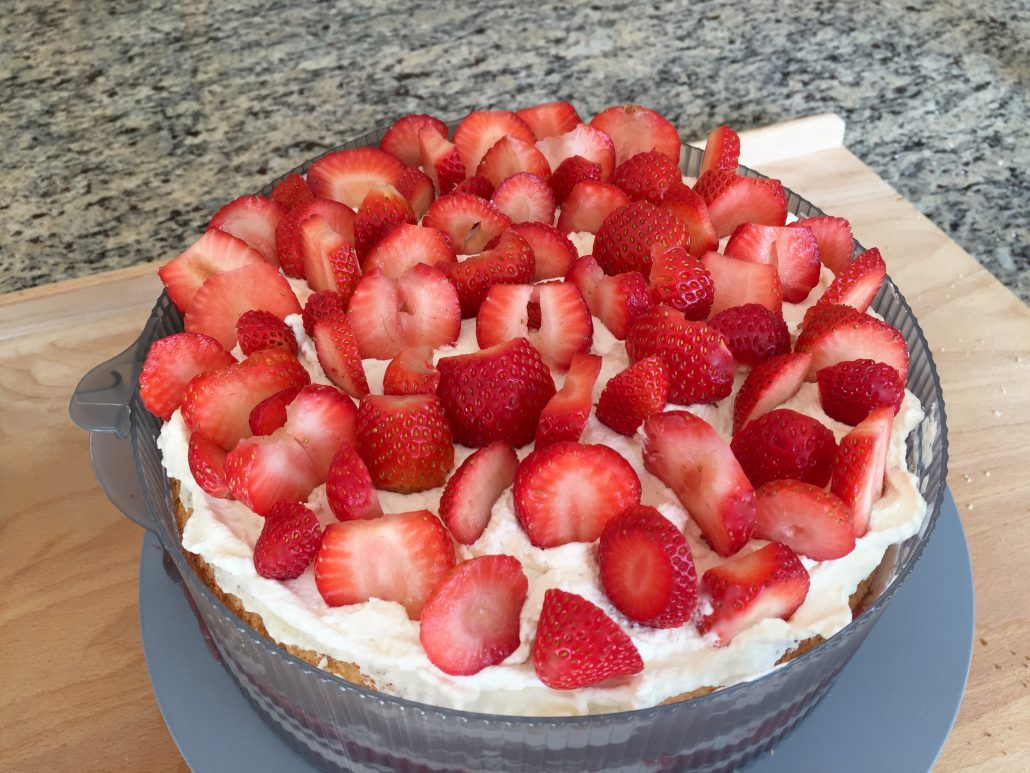 Finishing Strawberry Shortcake Recipe