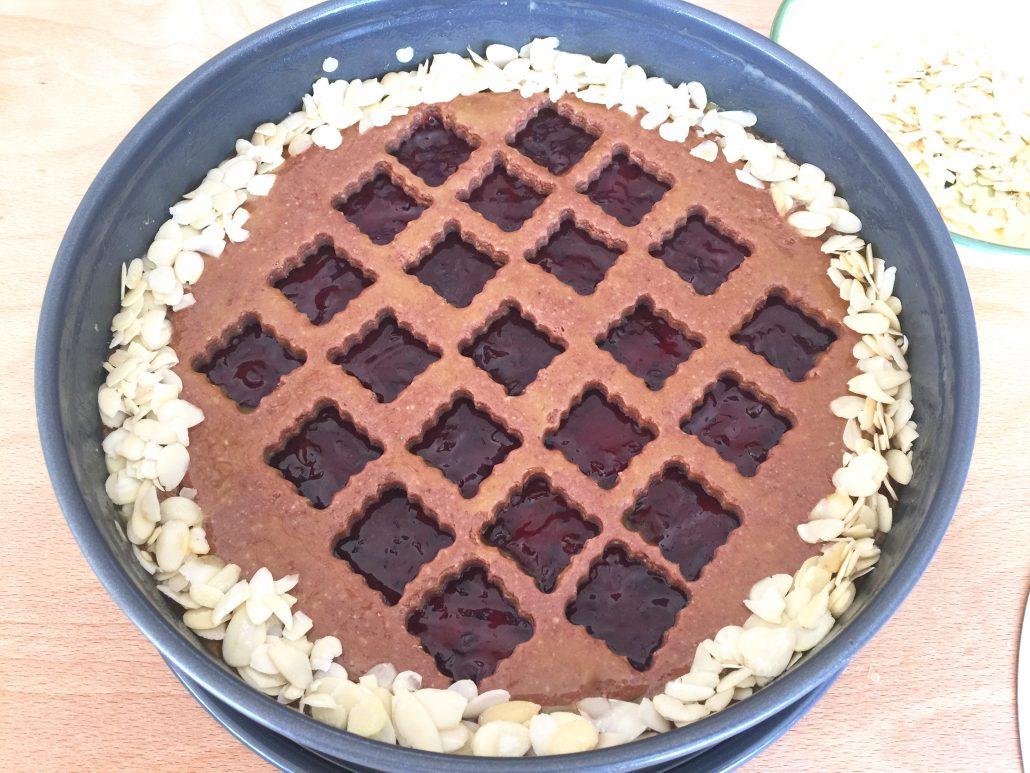 Baking Linzer Cake Recipe