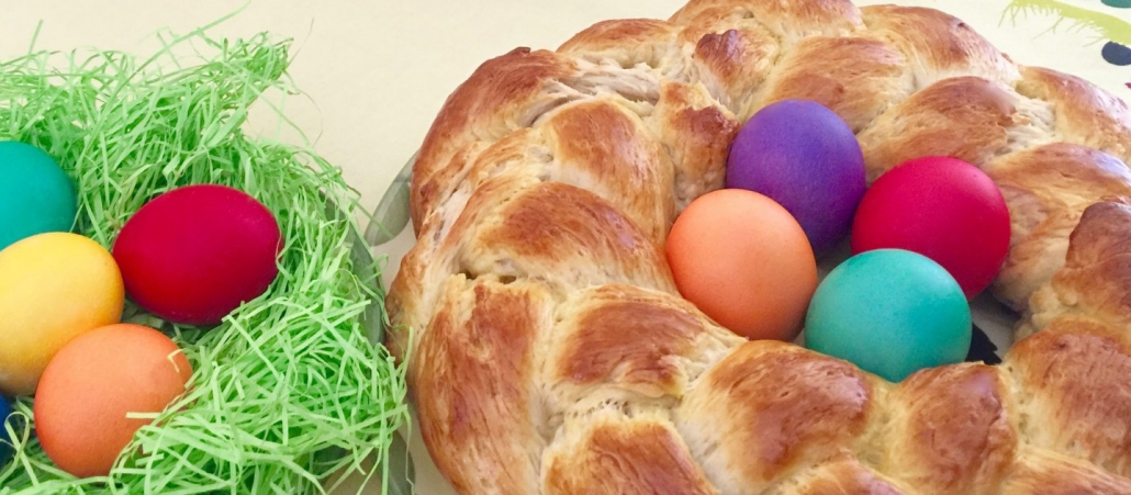 Easter Wreath Bread
