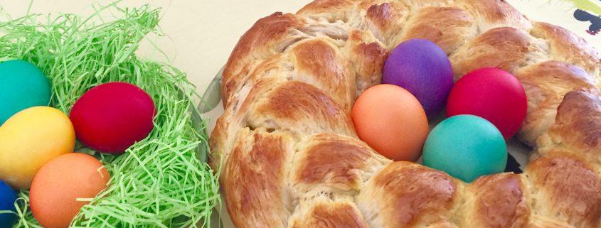 Easter Wreath Bread