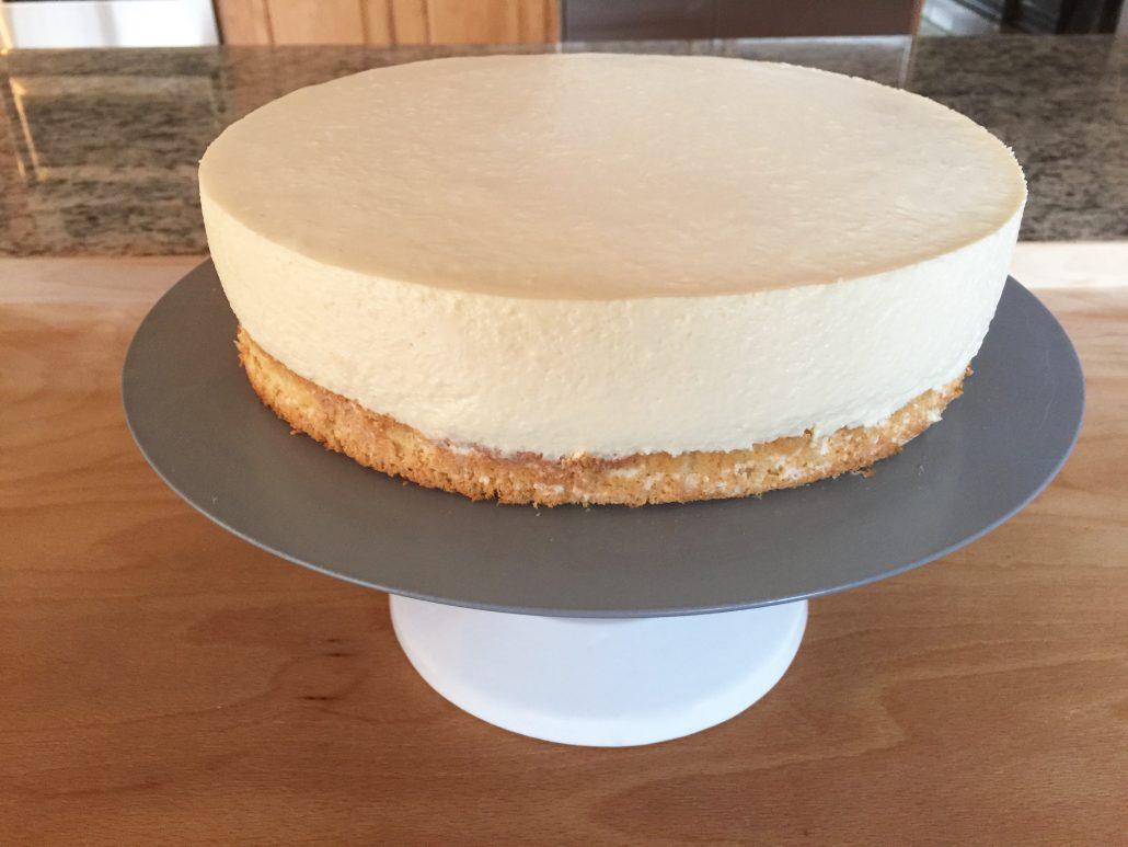 Finishing German Cheesecake Recipe-Kaesesahnetorte