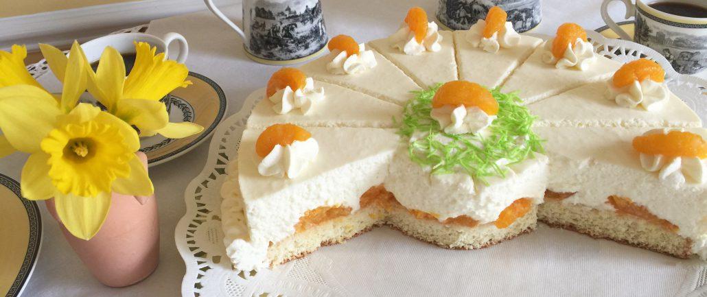 German Cheesecake Recipe-Kaesesahnetorte
