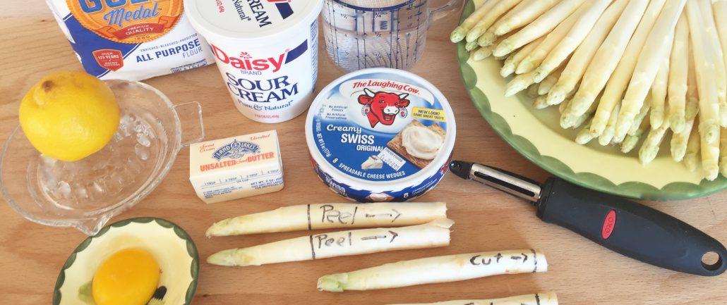 Ingredients German White Asparagus Recipe