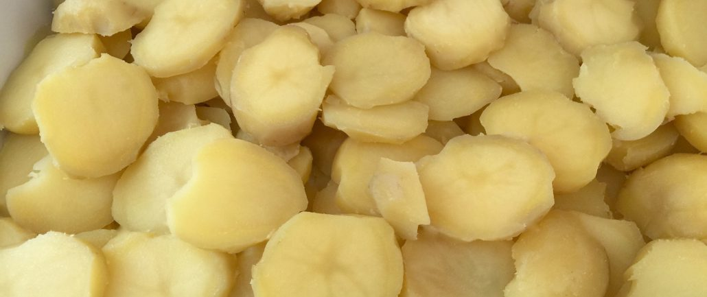 Preparation potato casserole recipe