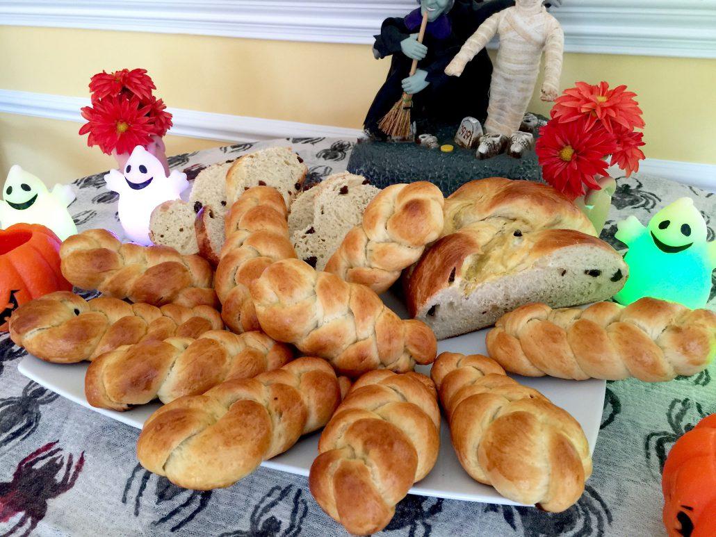 Sweet Braided Bread Allerheiligenzopf