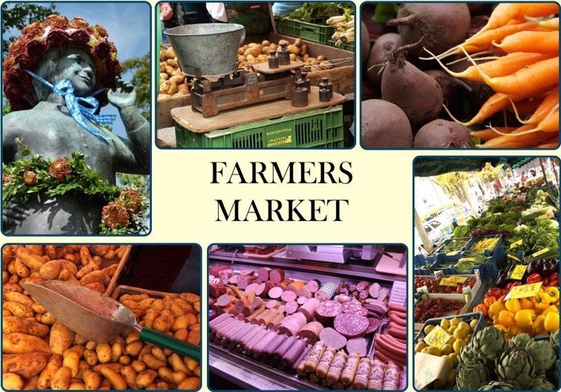 Farmers Market Travel Through Germany