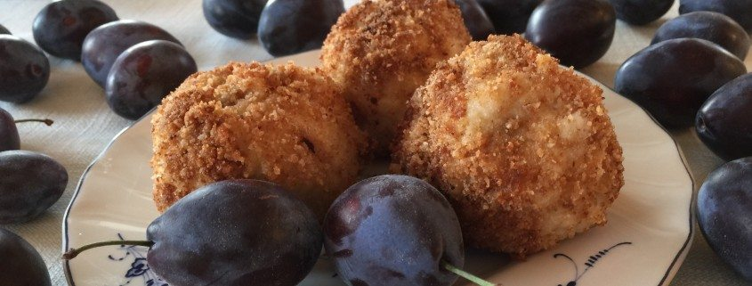 Traditional Plum Dumplings