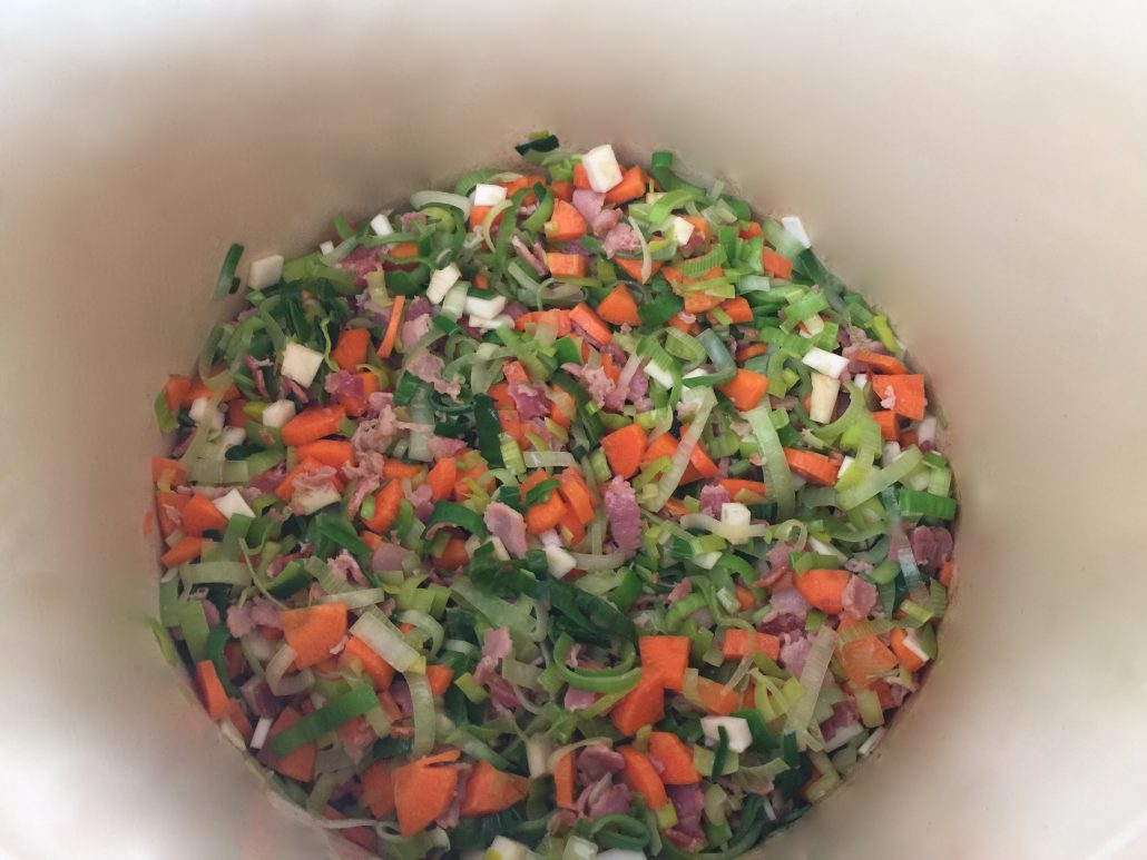 Preparation Split Pea Soup