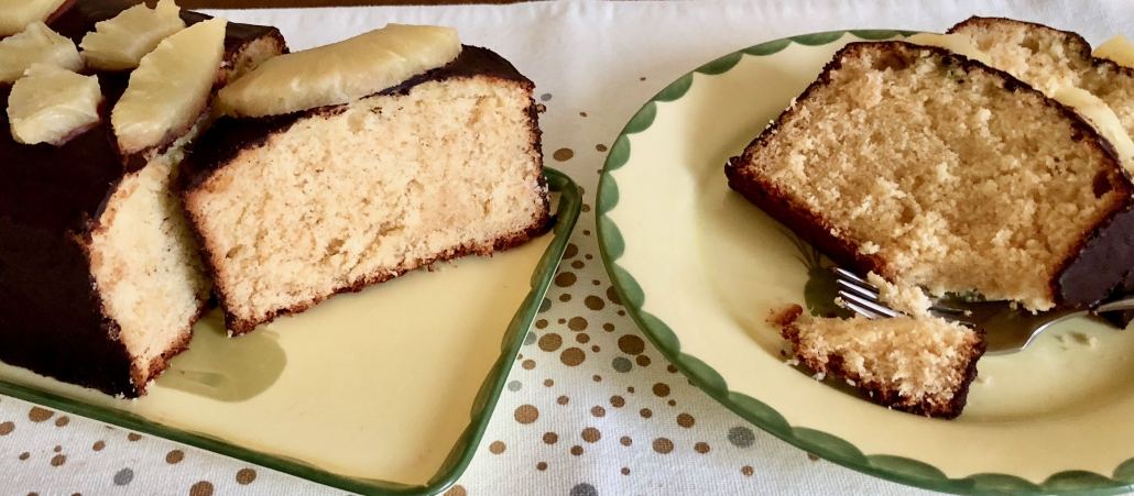 Pineapple Marzipan Cake Recipe