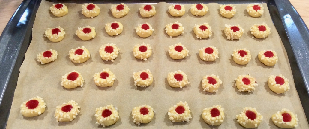 Filling of Thumbprint Cookies