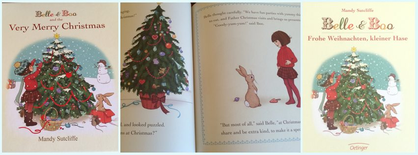 Belle & Boo and the Very Merry Christmas by Mandy Sutcliffe