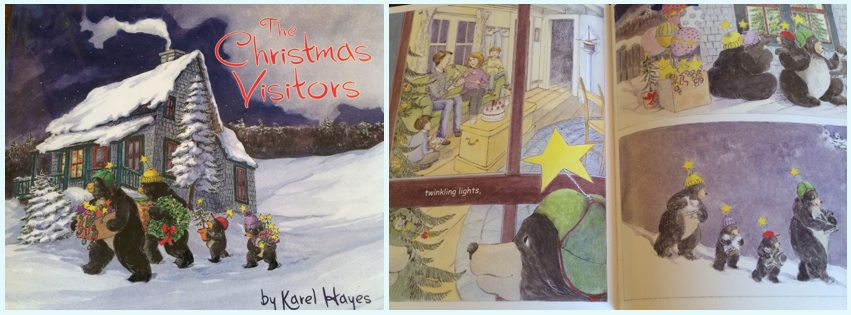The Christmas Visitors by Karel Hayes