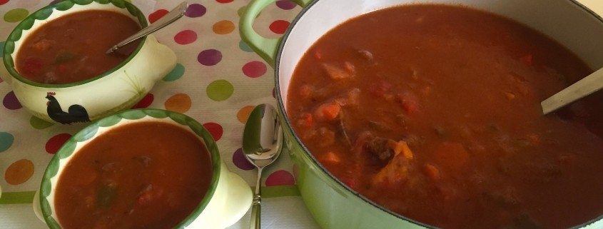 Homemade Goulash Soup Recipe