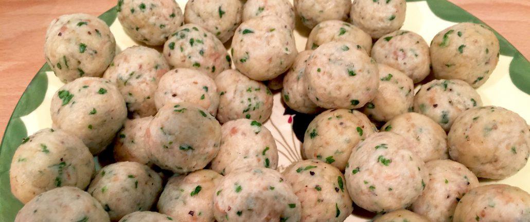 German Bone Marrow Dumplings
