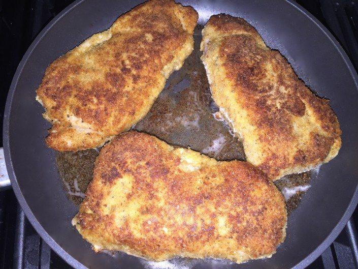 фото рецепт шницеля пошаговое