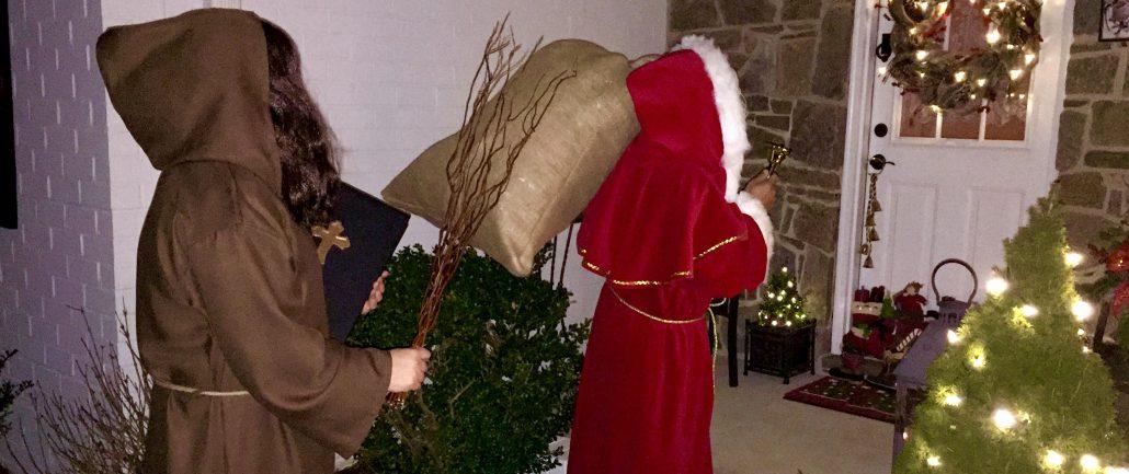 German Christmas Celebrations St. Nikolaus