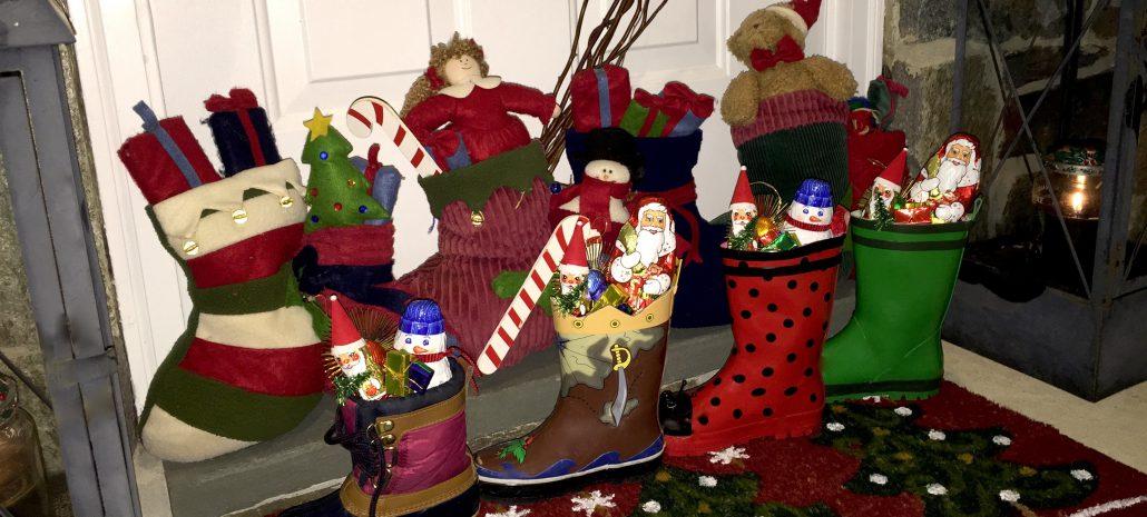 German Christmas Celebrations Boots