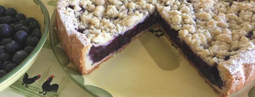 Traditional Blueberry Cake Recipe