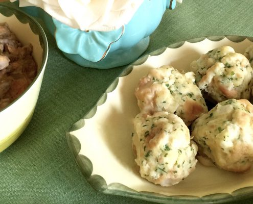 German Bread Dumplings Recipe