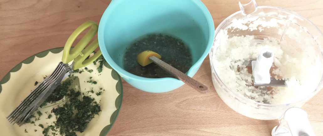 Preparation Boston lettuce salad recipe