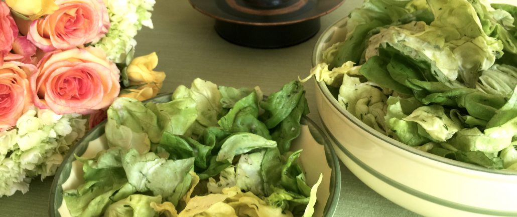 Boston Lettuce Salad Recipe