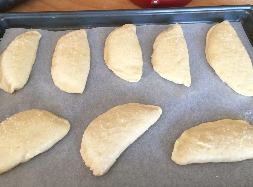 Baking Apple pockets recipe