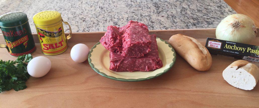 Ingredients for Koenigsberger Klopse German Meatballs