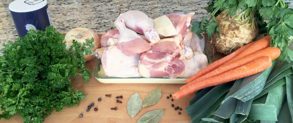 Ingredients German chicken broth recipe