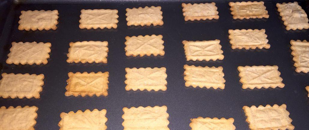 Finishing German Spekulatius Cookie Recipe