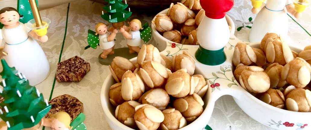 German Marzipan Cookies Bethmaennchen A Tradition Around Christmas