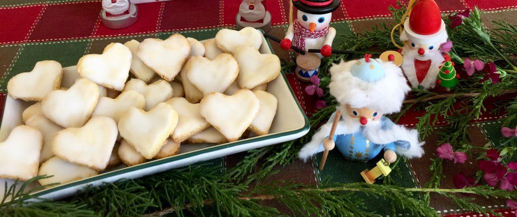 German Lemon Heart Cookies for Christmas