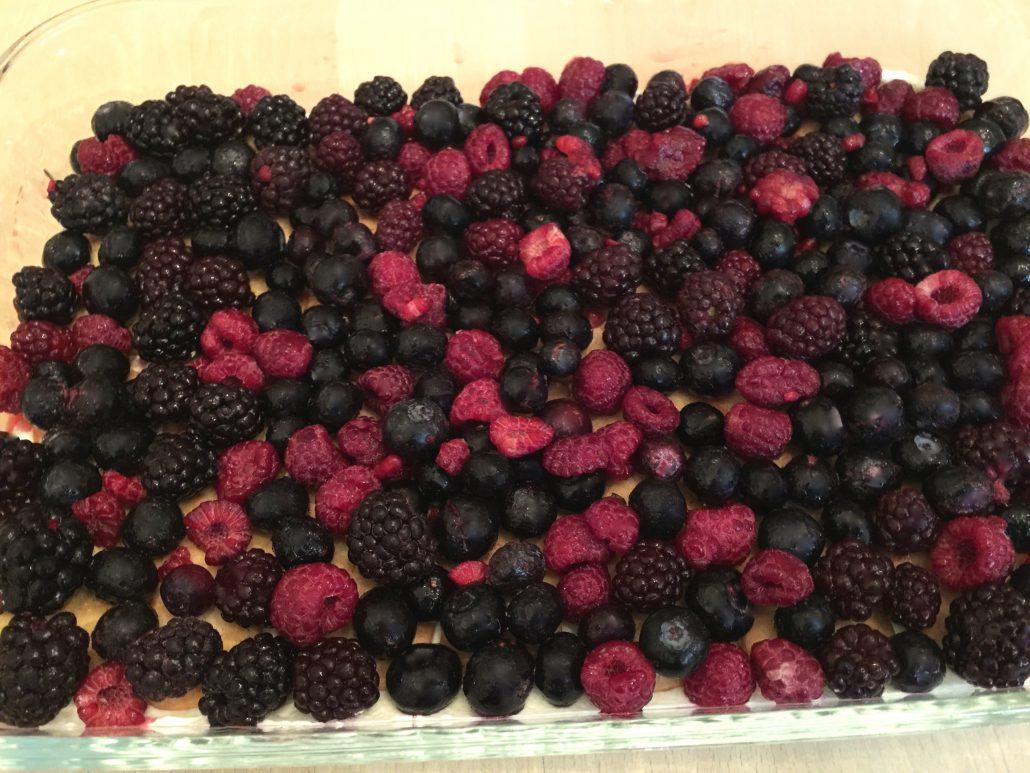 Berries Advent Tiramisu Recipe