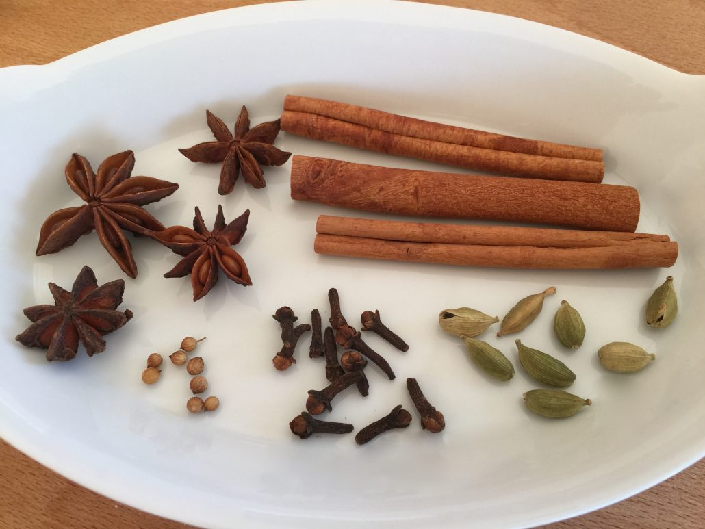 Spices Traditional Gluehwein Recipe