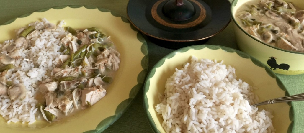 Traditional Chicken Fricassee Recipe