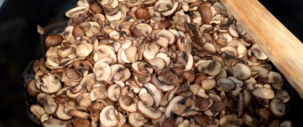 Preparation Mushrooms German Jaeger Schnitzel Recipe