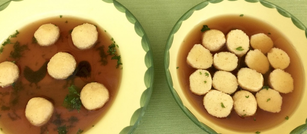 Traditional German Semolina Dumplings