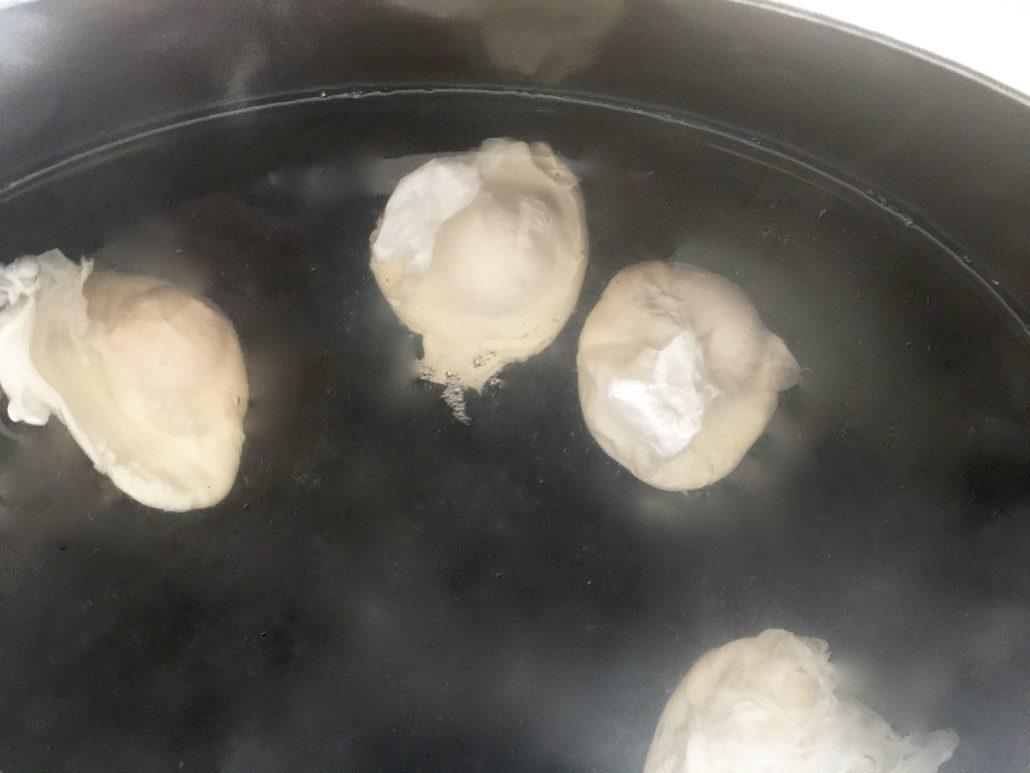 Preparation Poached Egg Recipe