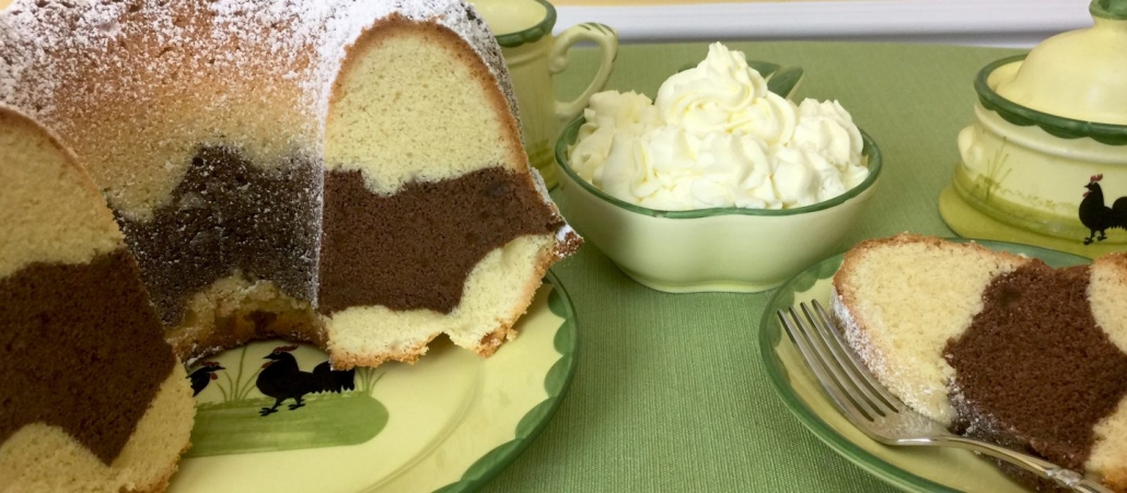 Traditional Marble Pound Cake