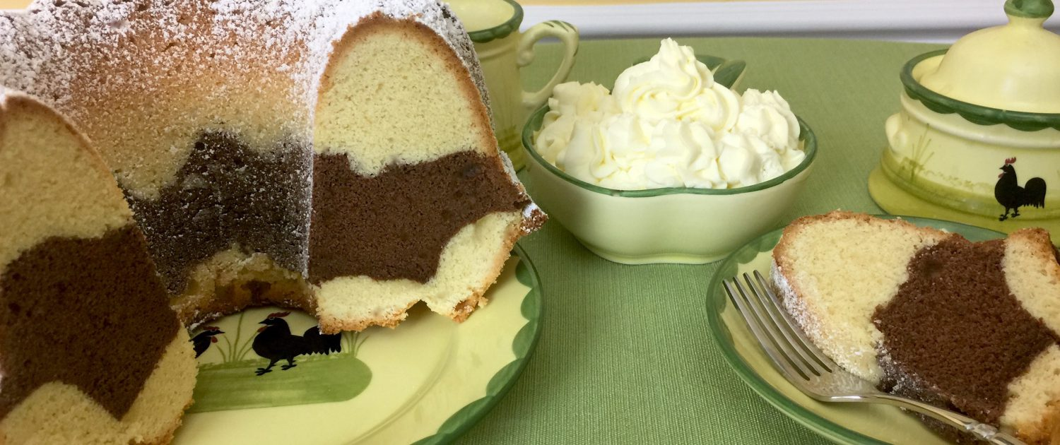 Authentic German Marble Cake Recipe