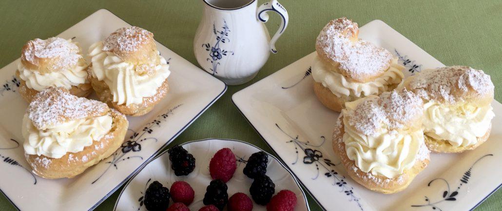 Classic German Cream Puffs Recipe