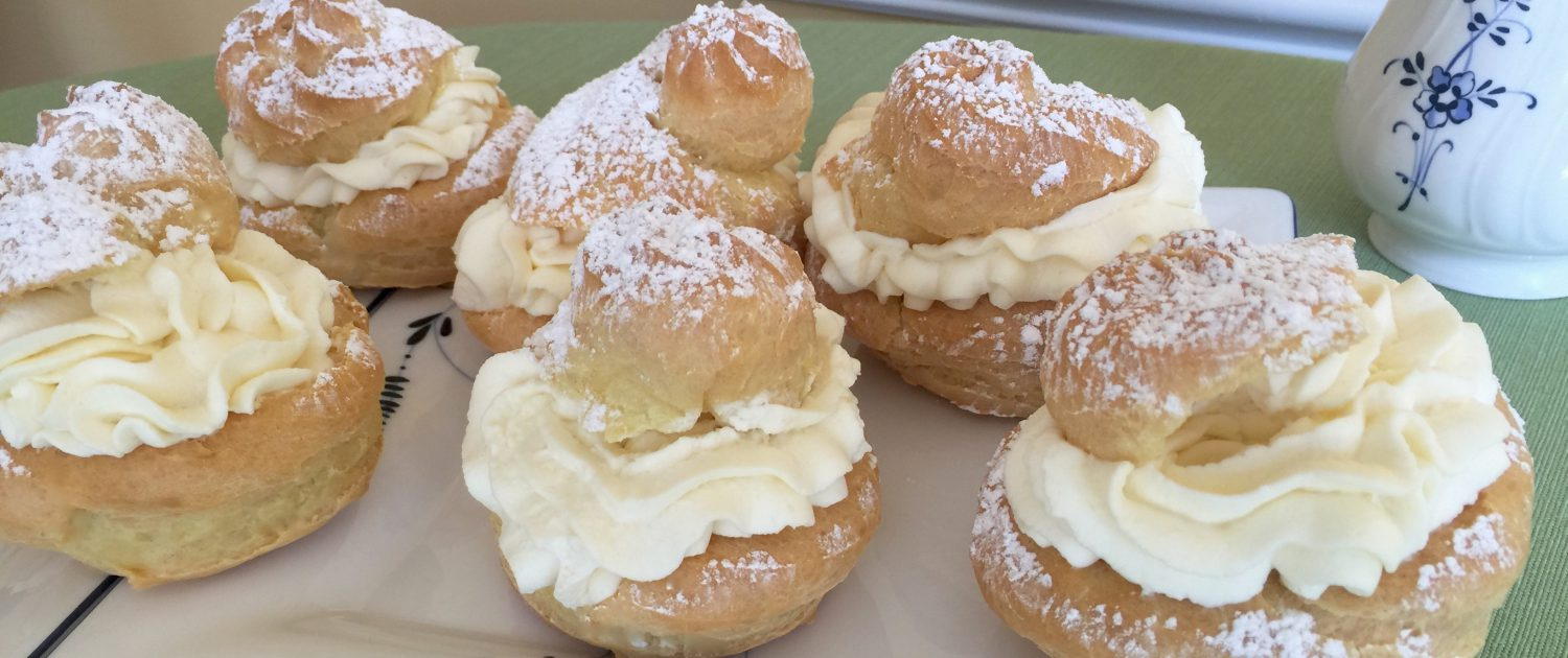 Classic German Cream Puffs Recipe