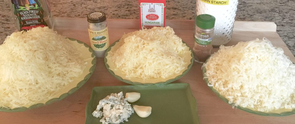 Preparation Cheese Fondue Recipe
