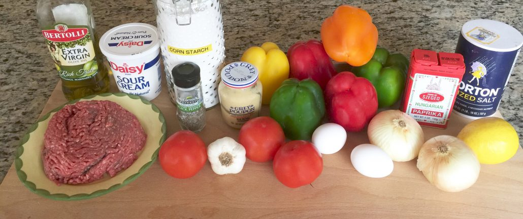 Ingredients Stuffed Peppers Recipe