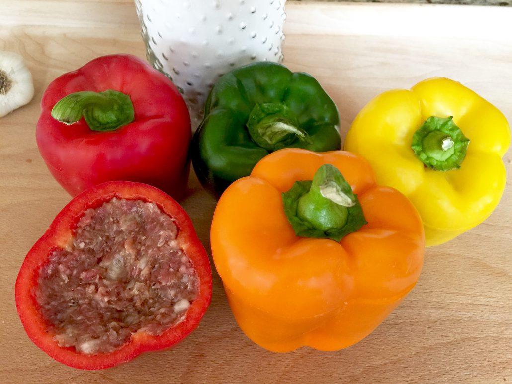 Preparation Stuffed Pepper Recipe