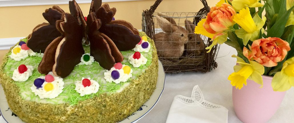 Homemade Easter Cake