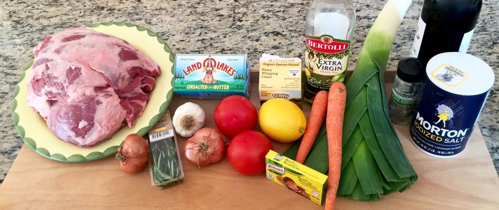 Ingredients for Roast Lamb Recipe