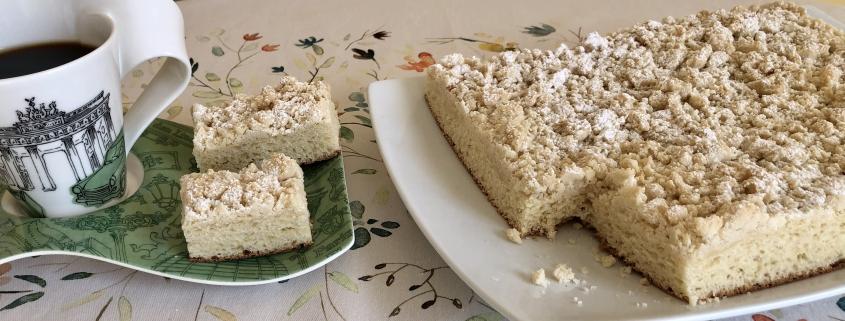 Original German Crumb Cake Recipe