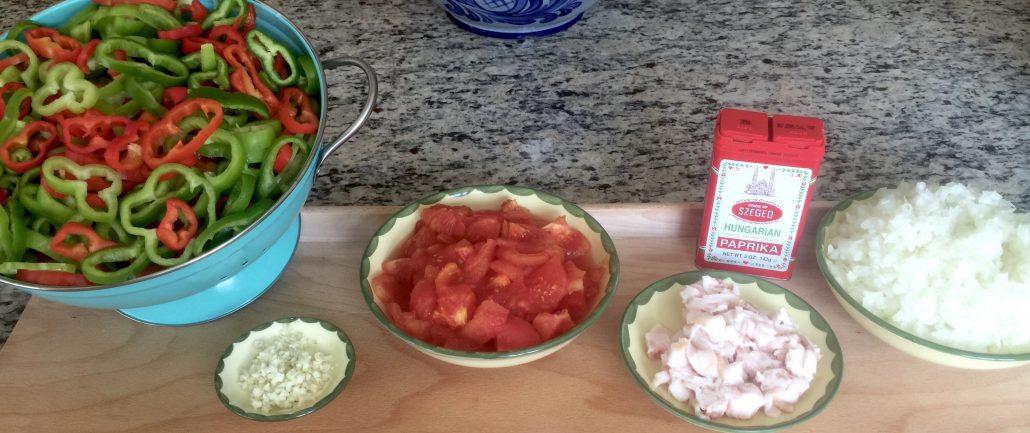 Preparation Letscho Recipe