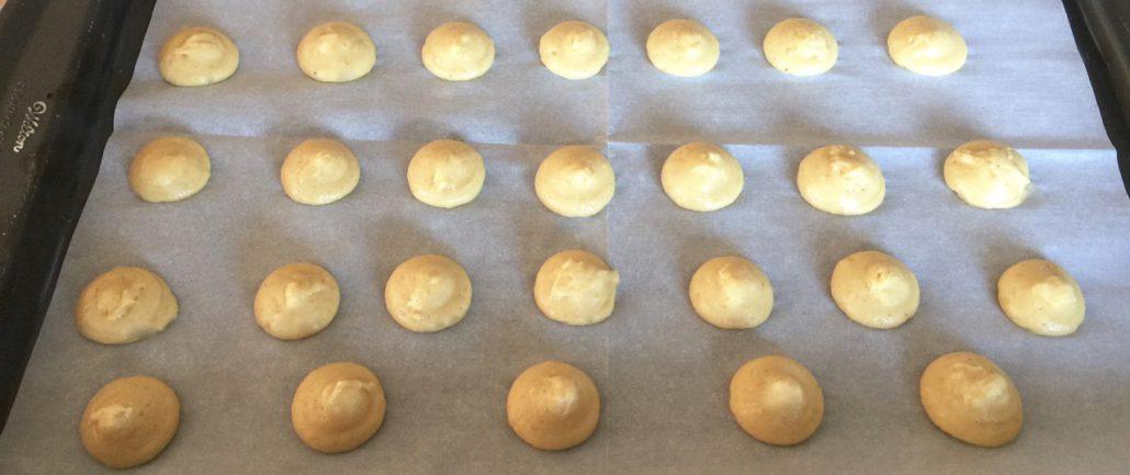 Shaping German Anise Christmas Cookies